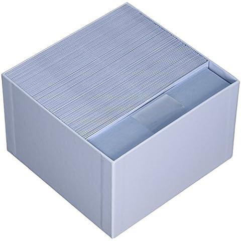 Original Crown Mill-Set da corrispondenza Luxury, biglietti con buste, confezione da 100, colore blu