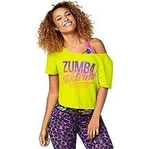 Zumba Fitness - Top da donna amazon verdi Primavera