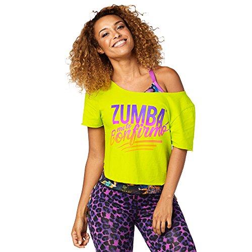 Zumba Fitness Damen Zumba Confirmo Top Fitness Tanktops Frauentops, Zumba Green, XS (Zumba Tops Für Damen Grün)