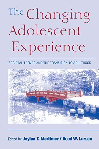 The Changing Adolescent Experience: Societal Trends and the Transition to Adulthood by Cambridge University Press (2002-09-23)