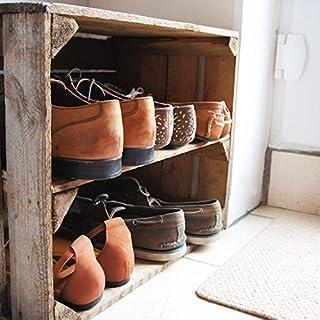 Wooden Apple Crate Shelf; handmade in Kent, Shoe Rack or Storage