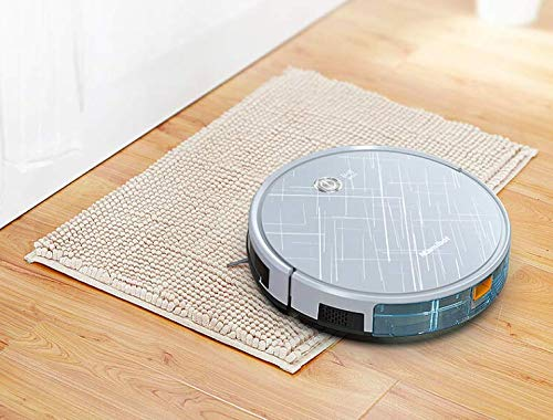 MAMIBOT Saugroboter mit Wischfunktion automatischer Staubsauger Roboter / 2in1 nass Wischen oder Staubsaugen/Staub oder Wischsauger für Hartböden/benetzt bis zu ExVac 660 Roboter Staubsauger Wifi