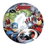 Generique - Disque en Azyme Avengers 20 cm