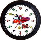 Lucky Clocks LERNUHREN Feuerwehr Schulanfang Wanduhren