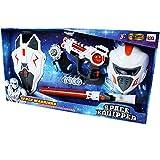 Star war Aventure Set avec Sabre laser Pistolet laser Jeu de tir Masque et Panneau ainsi que Catapulte mit Tranches zum Relooker 9 pièces
