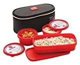 Cello Max Fresh Plastic Lunch Box Set, 3...