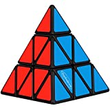 Dodolive Pyraminx torcedura Puzzle Cube,Negro