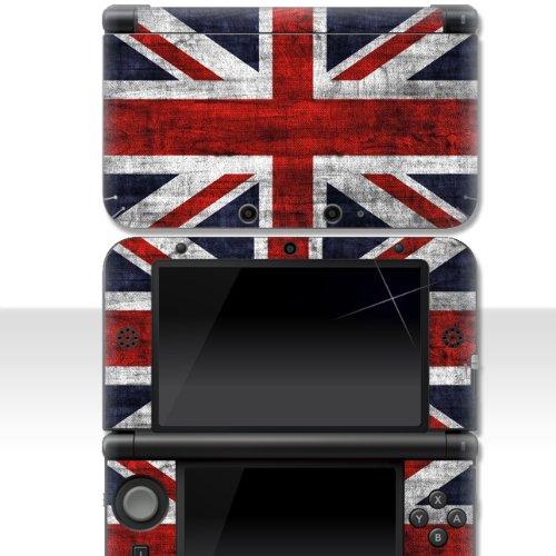 """Nintendo 3DS XL Skin """" UK FLAG """" Aufkleber Sticker Folie Schutzfolie"""