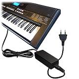 ABC Products Remplacement Yamaha 12V / 12 Volt / DC 12V Adaptateur Secteur Mur Cable (PA-5D/PA-150/PA-150A/5D/SEPA6/PA-6/PA-3C/EP-A3/KP-A3/PA-130/PA4/PA-40/PA-3B/PA-3C/PA-1/PA-1B) pour Yamaha Synthesizers / Stage Piano's / Portable Keyboards / Piaggero Digital Piano / Drum Machine Serie etc (modèles indiqués ci-dessous)