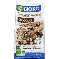 Bjorg Crousti' avoine chocolat Le paquet de 500g Produit Bio Agrée Par AB - Prix Unitaire - Envoi Rapide Et Soignée