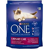 Purina One Urinary Care Cat Food Rich in Chicken and Wheat, 800 g - Pack of 4