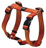 Rogz SJ11-D Utility Hundegeschirr/Snake, M, orange