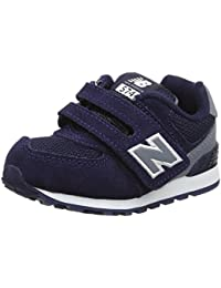 New Balance 574 Hook and Loop High Visibility, Zapatillas Unisex Niños