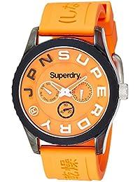 Superdry Analog Orange Dial Men's Watch-SYG170O