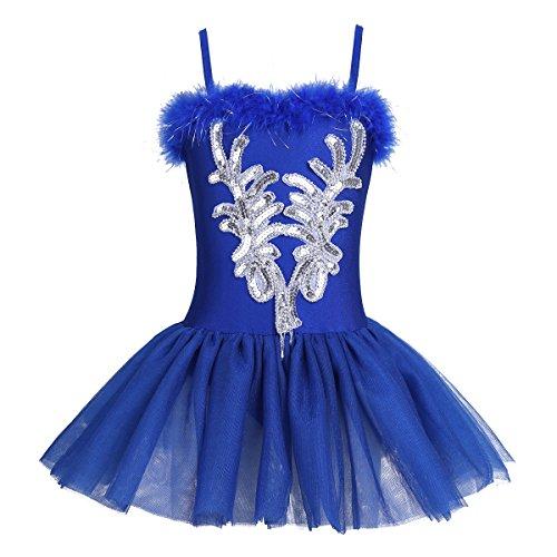 IEFIEL Vestido Maillot Ballet Danza Niña Chica 4-12