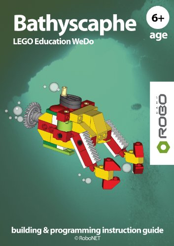Bathyscaphe WeDo ebook (LEGO WeDo building & programming instruction guide 1) (English Edition)
