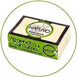 - Mascarilla de jabón NATUYO blanqueante de ALMENDRA & CÚRCUMA.- Para la prevención de arrugas, eliminar manchas de la piel y propiedades anti-acné.