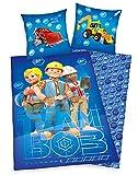Bob el Constructor - Niños Ropa de Cama Juego de Cama 80/80 x 135/200cm