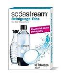 SodaStream Pastiglie per la pulizia delle bottiglie, confezione da 10