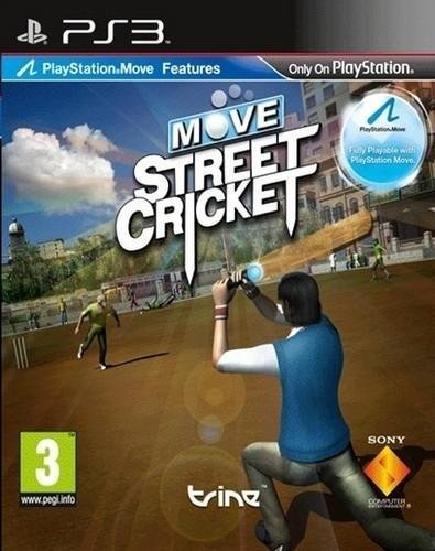 Move Street Cricket (Playstation 3) by Playstation