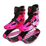 HLDUYIN Mini-Trampolin Jumping Schuhe Bounce Schuhe Teen Sport Bounce Fitness Schuhe Dunk Schuhe Mehrere Größen - Small, Medium, Large,Pink,L