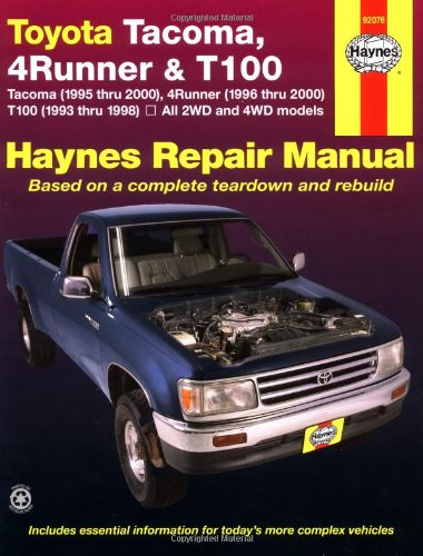 toyota-tacoma-4runner-and-t100-automotive-repair-manual-1993-to-2000-haynes-repair-manual