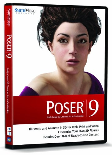 Poser 9 Box engl. Mac/Win (O R Handtücher)
