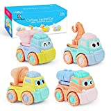 Jouets Bebe Petite Voiture Enfant Véhicules de Construction Enfant en Plastique Voiture Cars Cadeau pour Enfants Garçons et Filles Jouet Bebe 1,2,3 Ans