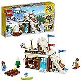 Lego Creatore 3in1 Kit modulare vacanza invernale 31080 edificio (374 pezzi)