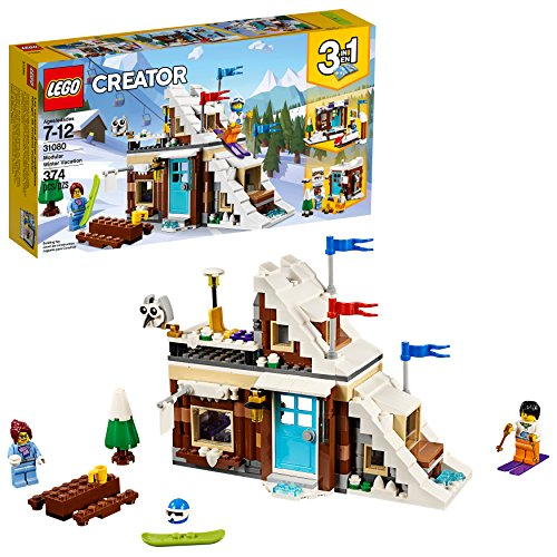 LEGO Creator 3in1 modulare Winterferien 31080 Baukastens (374 Stück) -