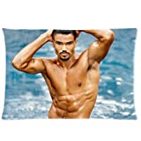 Shemar Moore Taie d'oreiller Taille standard 20 x 30 pwc-263