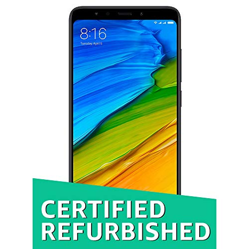 (Renewed) Redmi 5 (Black, 2GB RAM, 16GB Storage)