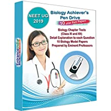 EntranceIndia NEET UG 2019 Achievers Biology with 10+1 Biology Model Papers (Pen Drive)