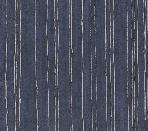 Unbegrenzt Aurum 57704 Blau Nachtlicht mit silbernen Schlangen