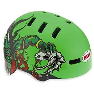 Bell Fraction Casque pour vélo enfant Neon Vert Demon XS (48 53 cm)