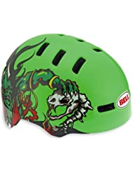 Bell Fraction - Casco de ciclismo verde neon green demons Talla:48-53 cm