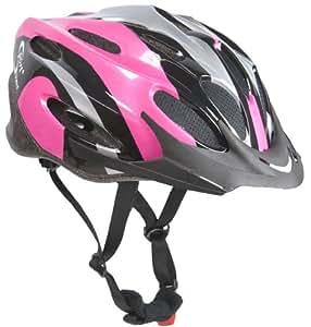 sport direct bicycle helmet ladies 56 58cm pink amazon. Black Bedroom Furniture Sets. Home Design Ideas