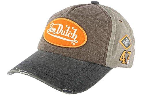 taille-unique-casquettes-von-dutch-jack-gris