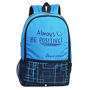 POLESTAR Hero 32 Liters Blue Casual daypack School Backpack