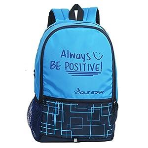 POLESTAR Hero 32 Liters Blue Casual daypack School Backpack