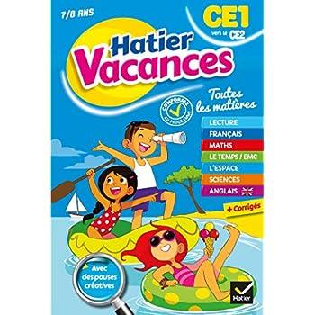 Cahier de vacances du CE1 vers le CE2- 2019