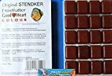 Stendker Frostfutter Sparpaket 50 x GoodHeart Colour Diskusfutter: 100g Blister/für farbenprächtige Diskusfische.