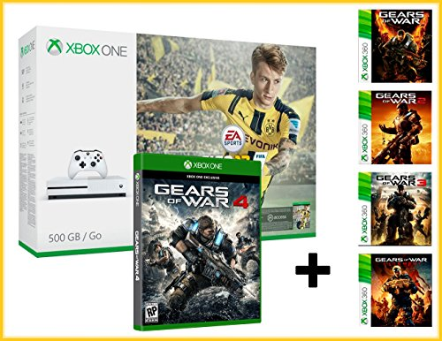 xbox-one-s-500gb-fifa-17-ea-access-1-mois-gears-of-war-4-gow-123-gow-judgment-megapack-6-jeux