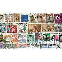 Prophila Collection Canadá 100 diferentes sellos (sellos para los coleccionistas)