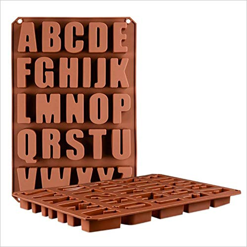 Welltobuy Silikon Backform Schokoladenformen Mit 26 Löchern Backen Eiswürfel Süßigkeiten Gelees Plätzchen Form Utensilien (Einfach Backen Backofen Spielzeug)