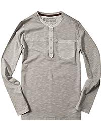 Strellson Sportswear Herren Langarm-Shirt Longsleeve, Größe: XL, Farbe: Grau