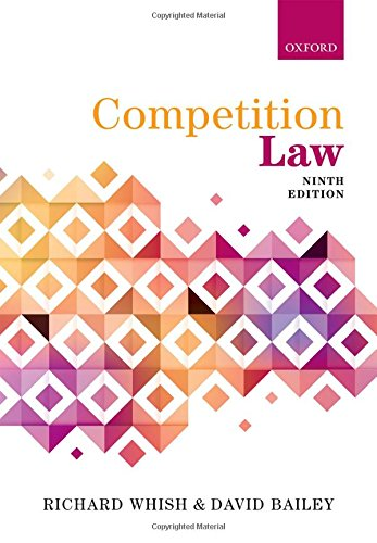 Competition Law por Richard Whish