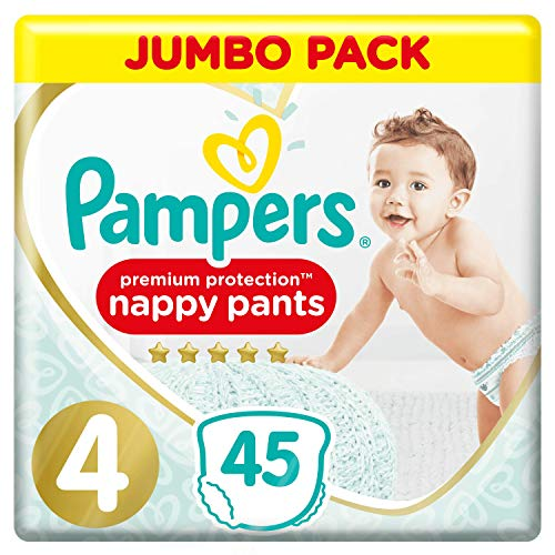 Pampers Premium Protection Pants Größe 4, 2x 45 Windeln
