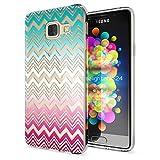 Samsung Galaxy A3 2016 Coque Protection de NALIA, Housse Motif Silicone Portable Premium Case Cover Transparente, Ultra-Fine Souple Gel Slim Bumper Etui pour A3-16, Designs:Colorful Lines