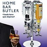Four Bottle Bar Optic Drinks Dispenser
